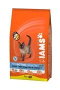 Iams - Сухой корм для взрослых кошек (с океанической рыбой) ProActive Health Adult with Ocean Fish