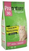Pronature Original - Пронатюр 30 сухой корм для котят (цыпленок)