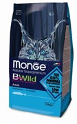 Monge - Сухой корм для взрослых кошек с анчоусам Bwild Cat Cat Anchovies