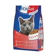 MonAmi - Сухой корм для кошек (с мясом говядины)