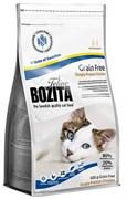 BOZITA - Сухой беззерновой корм для взрослых кошек Feline Funktion Grain Free Single Protein Chicken