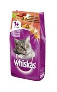 Whiskas - Сухой корм для кошек (подушечки с паштетом из говядины и кролика)