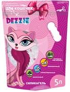 """Dezzie - Наполнитель для кошачьих туалетов силикагель """"Для кошечек"""" (без запаха) 5л"""