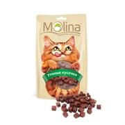 """Molina - Лакомство для кошек """"Утиные кусочки"""""""