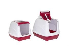 Moderna - Туалет-домик  Jumbo с угольным фильтром, 57х44х41см, терракотовый