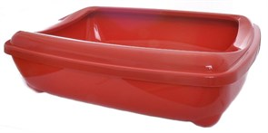 Moderna - Туалет-лоток средний с рамкой Artist Medium + rim, 42х30х12см, терракотовый