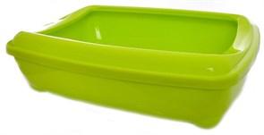 Moderna - Туалет-лоток средний с рамкой artist medium + rim, 42х30х12 лимонно-желтый