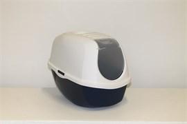 Moderna - Туалет-домик SmartCat с угольным фильтром, 54х40х41см, черничный