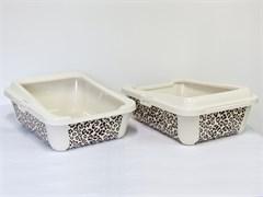 "Moderna - Туалет-лоток ""Сафари"" с бортами, 51х39х19см (Safari)"