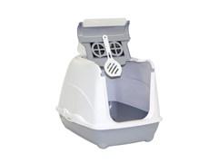 Moderna - Туалет-домик Flip с угольным фильтром, 50х39х37см, серый