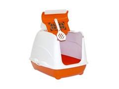 Moderna - Туалет-домик Flip с угольным фильтром, 50х39х37см, оранжевый