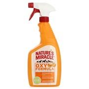 """Nature's Miracle - Спрей - Уничтожитель """"кошачьих меток"""", пятен и запахов с ароматом апельсина Stain&Odor Remover, Orange-Oxy"""