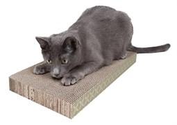 Kitty City - Когтеточка доска большая Wide corrugare sctratcher, 4*25*46 см