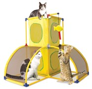 "Kitty City - Игровой комплекс для кошек Версаль ""Kitty Play Palace"", 70*70*70см"