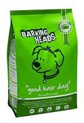"""Barking Heads - Сухой корм для собак, имеющих проблемы с шерстью, """"Роскошная шевелюра"""" (с ягненком и рисом) Bad Hair Day (Lamb Adult)"""