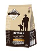 SAVARRA - Сухой корм для взрослых собак (индейка с рисом) Adult Dog Turkey & Rice