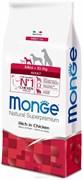 Monge - Сухой корм для взрослых собак мелких пород (курица с рисом) Mini Adult Dog