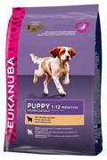 Eukanuba - Сухой корм для щенков всех пород (с ягненком и рисом) Dog Puppy & Junior All Breeds Rich in Lamb & Rice