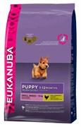 Eukanuba - Сухой корм для щенков мелких пород (курица) Dog Puppy & Junior Small Breed
