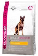 Eukanuba - Сухой корм для собак породы немецкая овчарка (курица) Breed Specific German Shepherd
