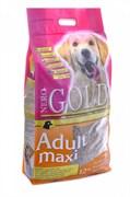 Nero Gold Super Premium - Сухой корм для взрослых собак крупных пород (курица с рисом) Adult Maxi Chicken & Rice