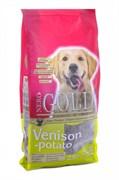 Nero Gold Super Premium - Сухой корм для взрослых собак (c олениной и сладким картофелем) Adult Venison & Potato
