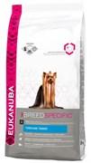 Eukanuba - Сухой корм для собак породы йоркширский терьер (курица) Breed Specific Yorkshire Terrier