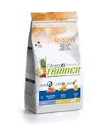 Trainer - Сухой корм для взрослых собак мелких пород (с лососем и кукурузой) Fitness No Gluten Mini Adult Salmon and Maize