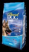 Special Dog - Сухой корм для собак с чувствительной кожей и особыми потребностями пищеварения (тунец с рисом)