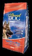 Special Dog - Сухой корм для собак с чувствительной кожей и особыми потребностями пищеварения (ягненок с рисом)