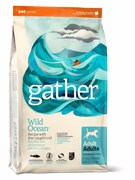 GATHER organic (Petcurean) - Органический сухой корм для собак (с океанической рыбой) Wild Ocean Fish