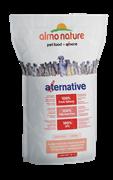 Almo Nature Alternative - Сухой корм для собак карликовых и мелких пород (со свежим лососем и рисом), 50% мяса Alternative Fresh Salmon and Rice