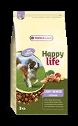 Happy Life (Versele-Laga) - Сухой корм для пожилых собак, контроль веса (с курицей) Light Senior Chicken