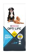 Opti Life (Versele-Laga) - Сухой корм для собак средних и крупных пород, контроль веса (с курицей и рисом) Adult Light Medium & Maxi