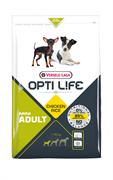 Opti Life (Versele-Laga) - Сухой корм для взрослых собак малых пород (с курицей и рисом) Adult Mini