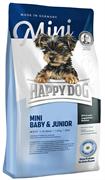 Happy Dog - Сухой корм для щенков и юниоров мелких пород Mini Baby and Junior