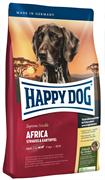 Happy Dog - Сухой корм для взрослых собак (с мясом страуса) Supreme Afrika
