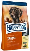 Happy Dog - Сухой корм для взрослых собак (с уткой и лососем) Supreme Toscana