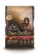 Purina Pro Plan - Сухой корм для взрослых собак мелких и карликовых пород (с лососем и рисом) DUO DELICE