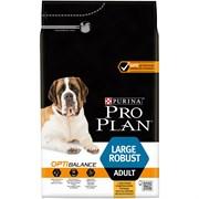 Purina Pro Plan - Сухой корм для взрослых собак крупных пород с мощным телосложением (с курицей и рисом) OPTIHEALTH