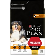 Purina Pro Plan - Сухой корм для взрослых собак средних пород (с курицей) OPTIHEALTH