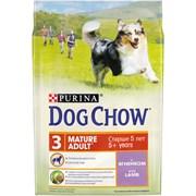 Purina Dog Chow - Сухой корм для взрослых собак старше 5 лет (с ягненком)