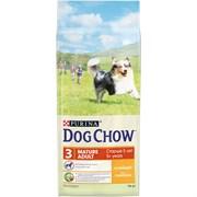 Purina Dog Chow - Сухой корм для взрослых собак старше 5 лет (с курицей)