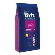 Brit - Сухой корм для пожилых собак мелких пород Premium Senior S