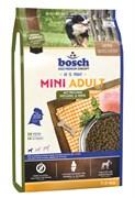 Bosch - Сухой корм для взрослых собак малых пород (Птица и просо) Mini Adult