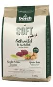 Bosch - Полнорационный корм для собак мелких пород (с косулей и картофелем) Soft Mini