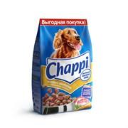 """Chappi - Сухой корм для собак """"Мясное изобилие"""""""