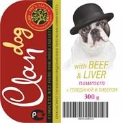 Clan - Консервы для собак (паштет с говядиной и ливером)