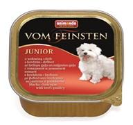 Animonda - Консервы для щенков и юниоров (с говядиной и мясом домашней птицы) Vom Feinsten Junior