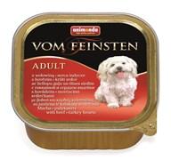 Animonda - Консервы для собак (с говядиной и сердцем индейки) Vom Feinsten Adult